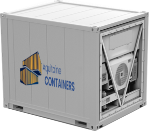 Aquitaine-containers: container 10 pieds reefer