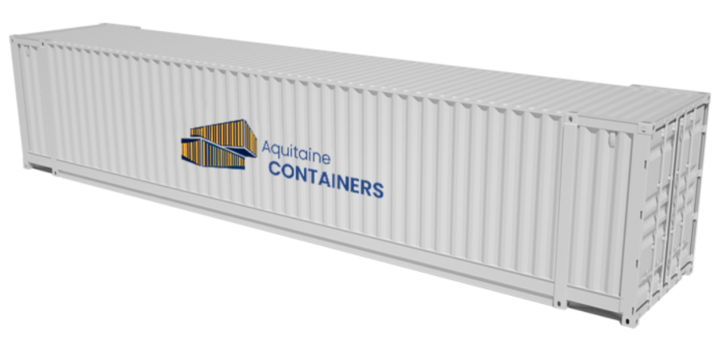 Aquitaine-containers: container 45 pieds high cube