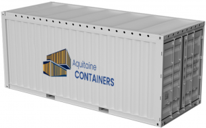 Aquitaine-containers: container 20 pieds open top