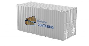 Aquitaine-containers: container 20 pieds high cube