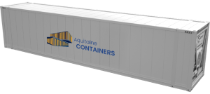 Aquitaine-containers: container 45 pieds reefer high cube