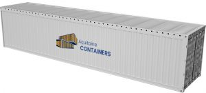 Aquitaine-containers: container 40 pieds open top