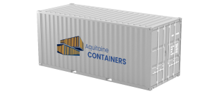 Aquitaine-containers: container 20 pieds dry