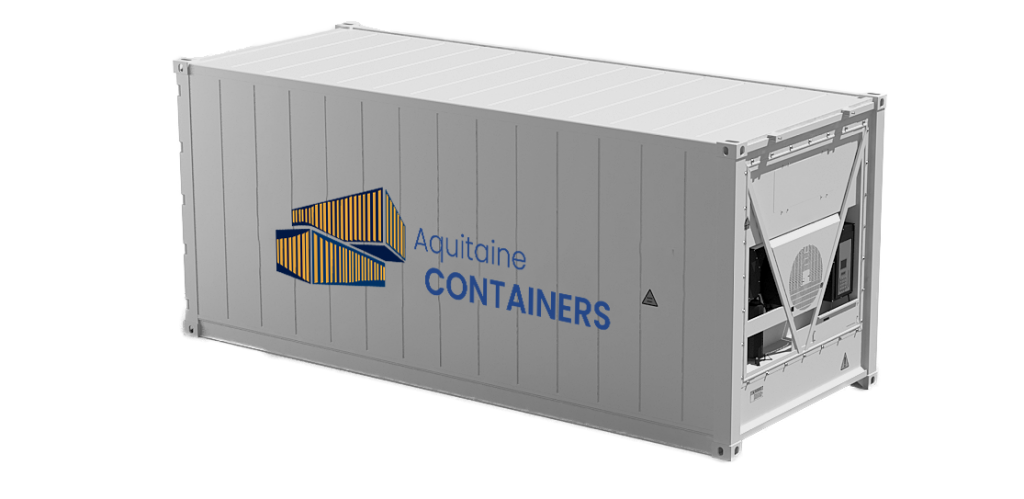 Aquitaine-containers: container 20 pieds reefer