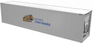 Aquitaine-containers: container 40 pieds reefer high cube
