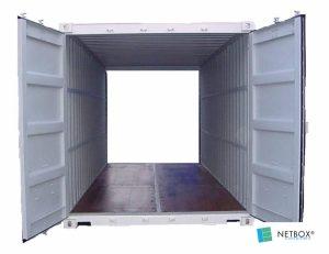 Intérieur Container 20 pieds double door aquitaine containers