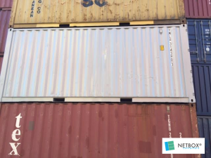 Container 20 pieds double door aquitaine containers