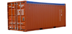 20 pieds Open Top aquitaine containers
