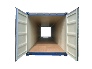 40 pieds double door aquitaine containers