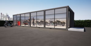 showroom moto containers netbox aquitaine