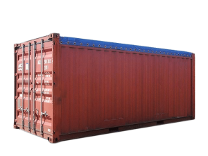 Container maritime occas 20 pieds Open Top aquitaine containers