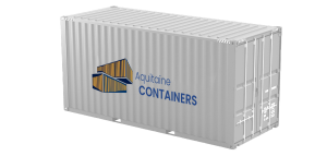 Container 20 pieds high cube
