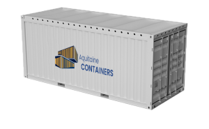 Aquitaine-containers: container 20 pieds top