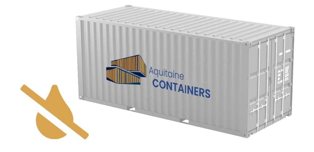 Aquitaine-containers: container étanche