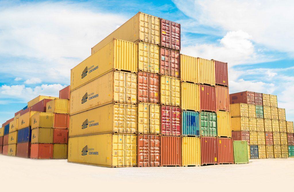 Aquitaine-containers: Entrepôt containers