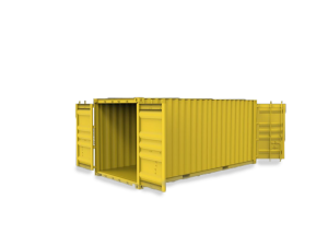 Aquitaine-containers: Container Double door