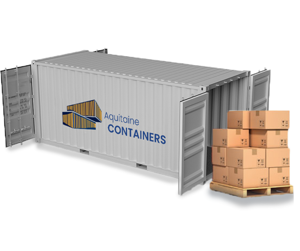 Aquitaine-containers: Container stockage