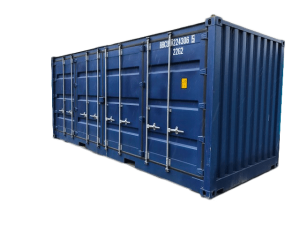 open side aquitaine containers