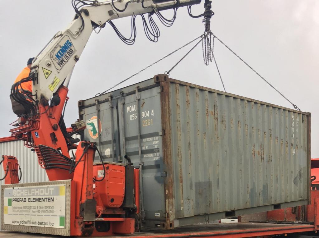 Aquitaine-containers: Bras de container