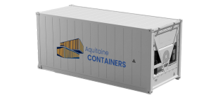 Aquitaine-containers: container 20 pieds isotherme