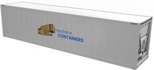 Aquitaine-containers: container 40 pieds isotherme high cube
