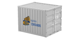 Aquitaine-containers: container 10 pieds high cube