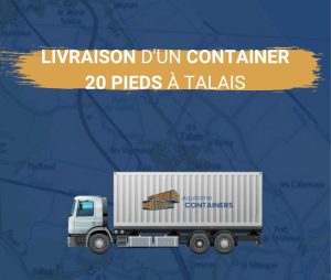 Aquitaine containers: livraison containers